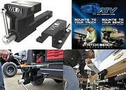 Wilton 6 Atv All Terrain Heavy Duty Vise Mounts To Your Truck's Hitch New Usa