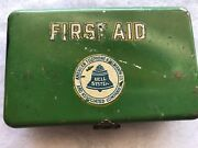 American Telephone And Telegraph Bell System Vintage First Aid Tin