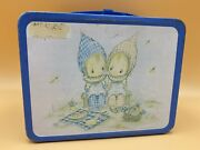 Vintage Metal Lunch Box Hallmark Cards With Thermos 1975 Thermos Brand