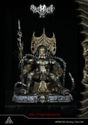 Muse69 Studios Predator Throne Resin Statue Model 31and039and039 High Sculptures Instock