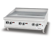Garland New Thermo Griddle Counter Top Gas Heavy-duty 23-5/8 W X 23 D 1