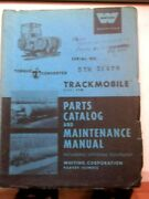 Whiting 5 Tm Trackmobile Parts Catalog And Maintenance Manual Optional Equipment