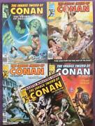 Savage Sword Of Conan 56 To 60. 1980. 5 X Bronze Age Issues.