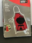 Weber 6476 Red Barbecue Apron '6476