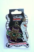 Disney Dsf Dssh Frozen Olaf Christmas Stained Glass Le500 Pin