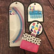 Nos Vintage 1992 Caboodles Hair Accessories Retro 90s Banana Jaw Clips Barrettes