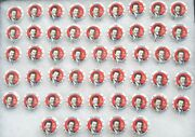 1984 President Ronald Reagan Complete 50 States Campaign Buttons Set Pinbacks