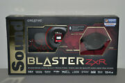Creative Sound Blaster Zxr Pcie Audiophile Grade Gaming Audio Card High Performa