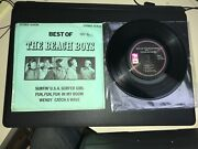 Mint Best Of The Beach Boys Capitol Compact 33 7 Ep And Rare Sleeve Beatles Era