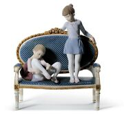 Lladro Ready For Practice Ballet Girls Figurine. Limited Edition 01008570