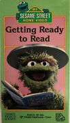 Sesame Street Getting Ready To Read Vhs 1986 Extremely Rare In Mint Condition