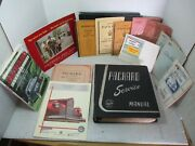 Vtg Lot Of Packard Car Owner And Service Manuals Buyers Guides And Book 1942-1962