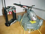 Air Hogs Prototype Remote Control Helicopter W/remote Made By Spinmaster Yr.2000