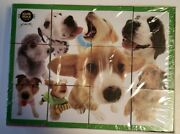 Cube Puzzle Of Animals With Large Noses New German Import 12 Pc. 3-d Puzzle