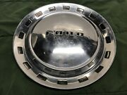 1952 Ford Mainline Crestline Vintage Classic Hubcap 15andrdquo Wheel Cover