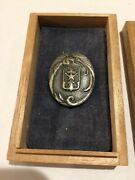 Japanese Time Expired Soldiers League Merit Badge With Original Japanese Box