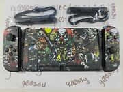 New Nintendo Switch Custom Scary Movie Styled Joy Cons And Backplate