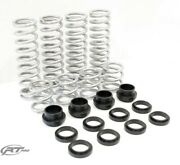 Rt Pro Heavy Duty Rate Replacement Springs For Can Am Maverick 64 W/ Fox Podium
