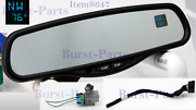 Auto Dimming Rear View Mirror Gntx-177 Dual Display And Temperature Sensor 7 Pin