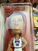 Upper Deck Nba Playmakers Bobblehead Predrag Stojakovic And Collectible Card