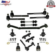14 Pcs Complete Front Suspension Kit For Chevy Blazer S10 Gmc Jimmy 2wd