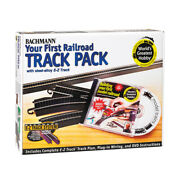 Steel Alloy First Railroad Track Pack Ho Scale 44497