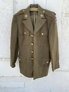 Ww2 Us Army Officers Tailored Infantry Majors Jacket Navy Air Force
