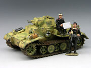 King And Country Ws108 New Panzer I Set - Collectors Showcase Figarti Fisrt Legion