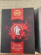 2019 Germania 5 Mark Space Red 1 Oz Silver Coin With Box And Coa 096/500