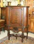 American Antique Batesville Indiana Mahogany Buffet / Sideboard / Cabinet