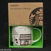 2017 Starbucks Pike Place Market Yah You Are Here Collector Coffee Mug Seattle