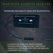 Universal Bluetooth Car Audio Tape Cassette Adapter For Iphone Mp3 Ipod Android
