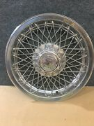 Vintage Mid-andlsquo70s Chevrolet 15 Wire Spoke Wheel Cover