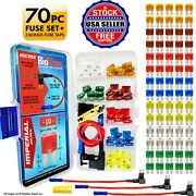 Biofuse® Micro2 70 Piece Fuse And Tap Assortment - 70 Fuses - 3 Holders + Puller