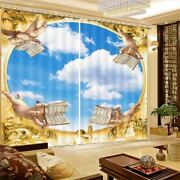 Childrenand039s Book Letter 3d Curtain Blockout Photo Printing Curtains Drape Fabric