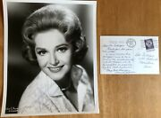 Singer Norma Zimmer, Lawrence Welk's Champagne Lady Autograph Photo Letter