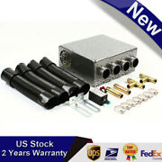 12v Universal Auto Car Underdash Compact Heater Copper Tube + Speed Switch Fast