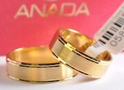 1 Pair Gold 585 Wedding Rings Bands Collection Anada Classic 2017