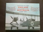 Only 100 Issued-2019 Anniv.of The First Flight-england To Australia Cover- Rare