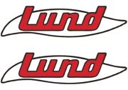 Lund Boat Decal Kit Set Stickers Fishing Sports Vintage Antique L@@k