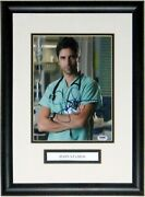 John Stamos Autographed Er 8x10 Photo Psa Dna Coa Authenticated Framed And Plate