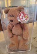 Ty Beanie Baby Curly Retired W/ Tag Errors Very Rare Collectible Vintage