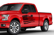 American Flag Side Doors Stripes Wrap Decal Sticker For Ford Supercab F150 2020