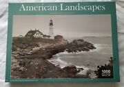 American Landscapes Jigsaw Collection 1000 Piece Puzzle 30andtimes20 Lighthouse