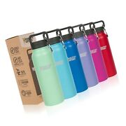 Healthy Human Water Bottle Bpa Free Sports Travel Stainless Steel Insulated ...