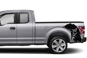 Bed Eagle Decal Sticker Graphic Side Stripe For Ford Supercab F150 2019 2020