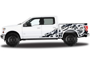 Skull Graphics For Ford Supercab Modern Sport Wrap Decal Sticker F150 2018 2019