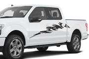Decal Sticker Graphic Splash Brush Side For Ford Supercrew Cab F150 2019 2020
