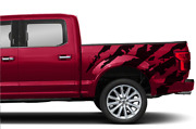 Ram Horn Graphic Side Bed Stripes Decal Sticker For Ford Supercrew Cab F150