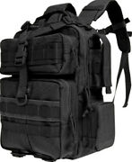 Maxpedition Typhoon Backpack 0529b Black. Main Compartment 13 X 9.5 X 4.5 Wi